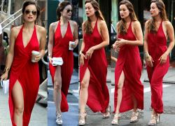Olivia Wilde (1 CO) Empitonada Sin Sujetador