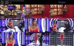 Lorena Gomez Video Tremenda Con Leggins Ajustados De Latex Minivestido Escotazos TCMS