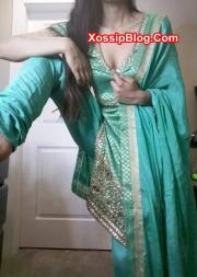 UK Pakistani Girlfriend Shalwar Kameez Nude
