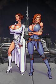 Star wars porn tits